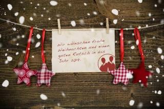 Frohen Weihnachten und einen guten Rutsch 2019